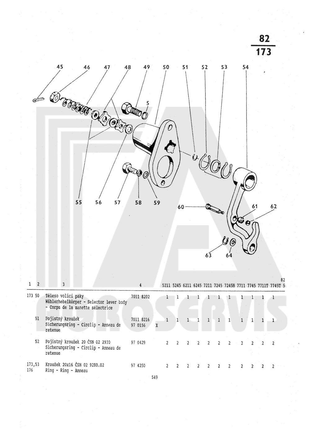82 Ovladani Hydrauliky Zetor Shop Nahradni Dily Zetor